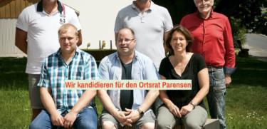 Ortsratskandidaten Parensen