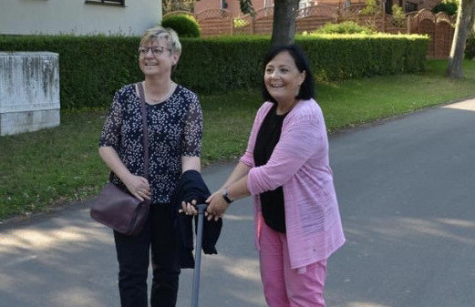 Frauke und Astrid am 23.06.in Parensen